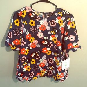 NWT Victoria Beckham for Target blouse M